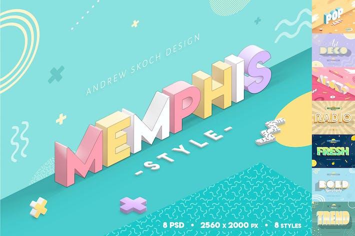 Thumbnail for Style de Memphis - Effets de texte