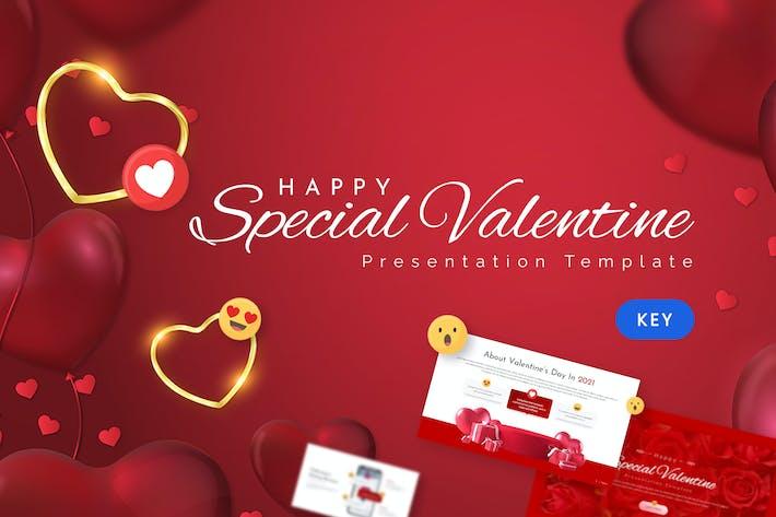 Special Valentine Keynote Template