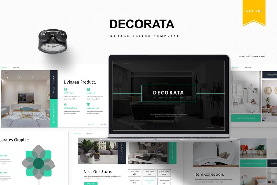 Decorata | Google Slides Template