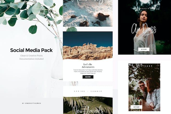 Thumbnail for Social Media Banners - Vol10
