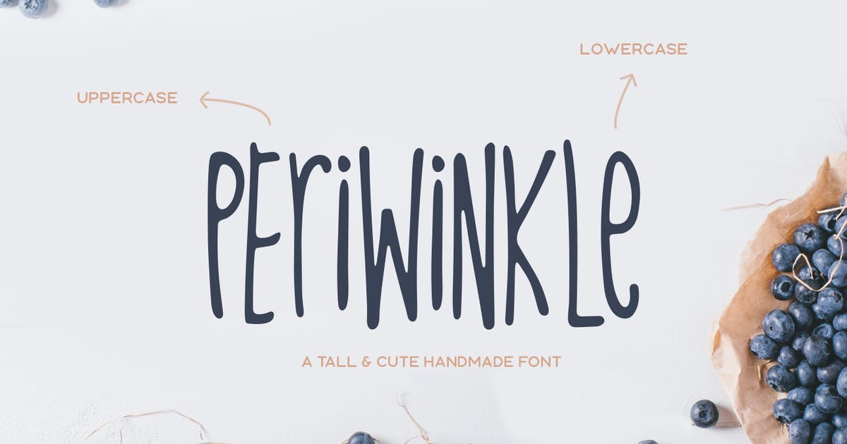 Download Periwinkle Typeface by MehmetRehaTugcu