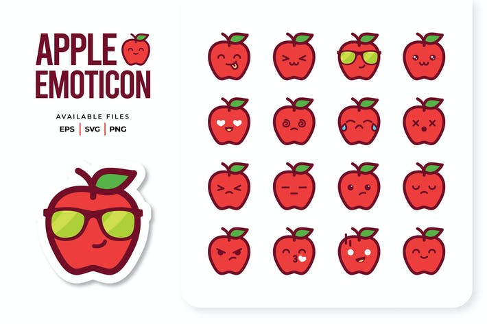 Thumbnail for Apple Emoticon