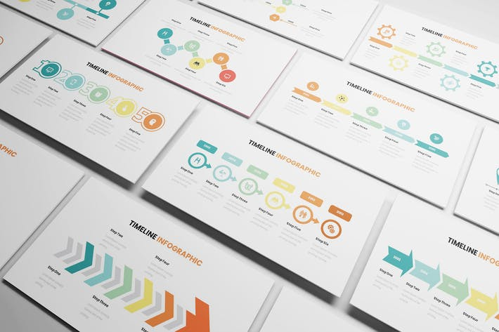 Thumbnail for Timeline Infographic Powerpoint Template