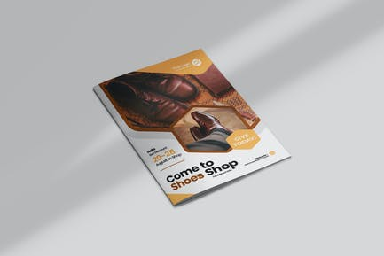 Shoes Bifold Brochure