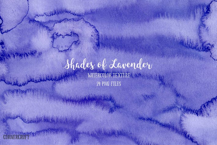 Thumbnail for Watercolor Texture Shades of Lavender