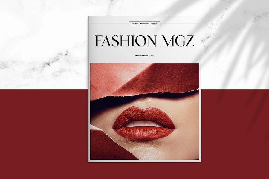 Fashion MGZ Layout