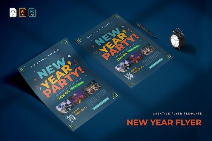 Thumbnail for Fête de famille du Nouvel An | dépliant