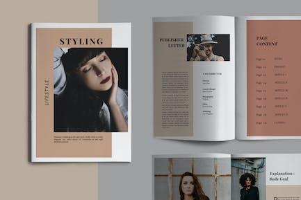 Styling Fashioned - Broschüre