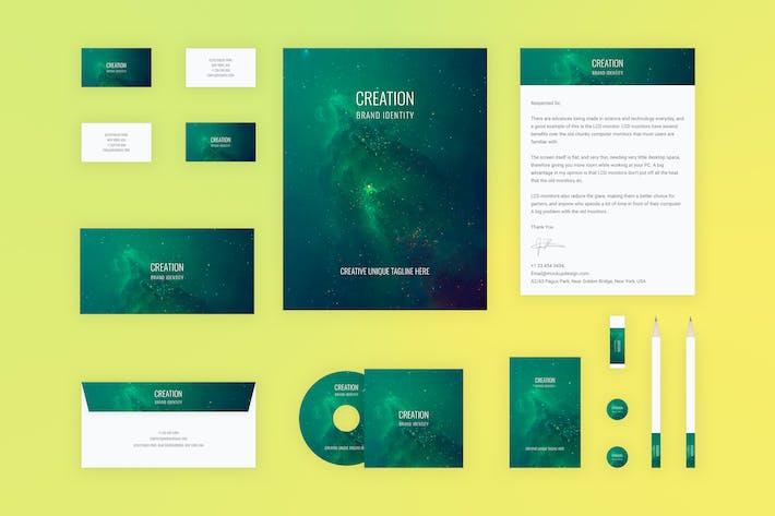 Thumbnail for Branding Identity Mock Up - Creation for Adobe XD