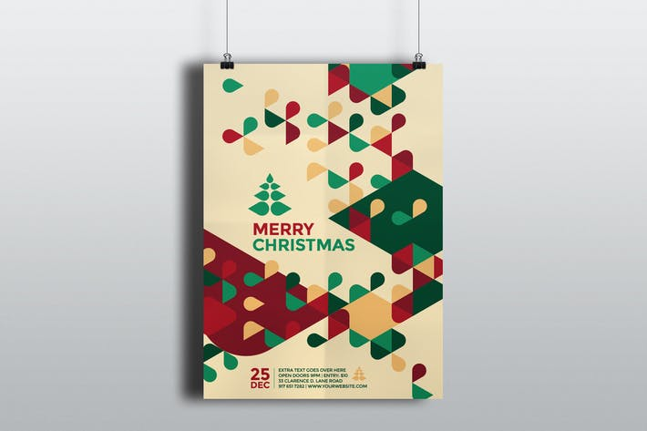 Cover Image For Modern Christmas Flyer