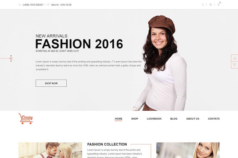 Crazy Fashion - Shopify Responsive Thème