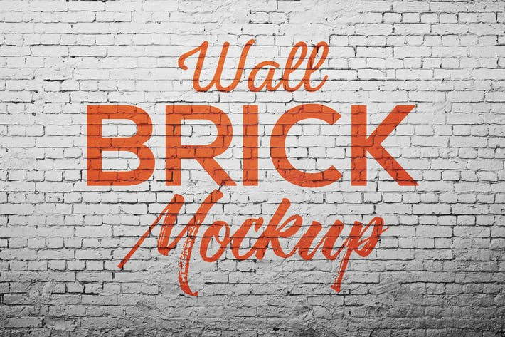 Thumbnail for Wall Brick Mock Up