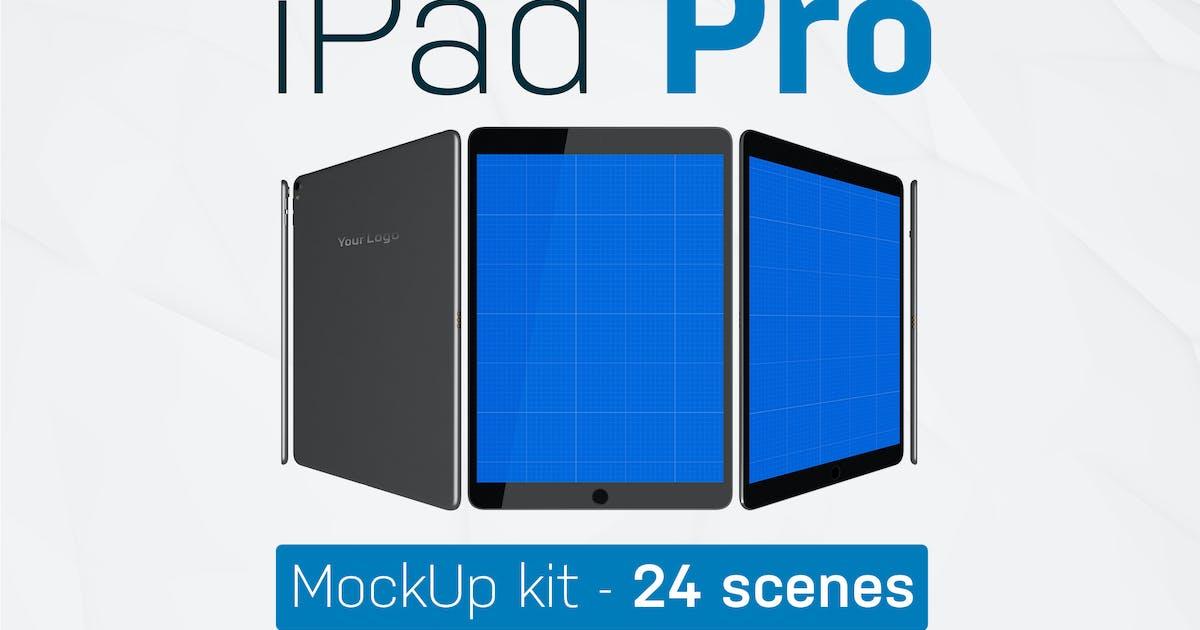 Download iPad Pro kit by QalebStudio