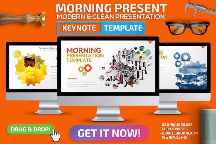 Cover Image For Morning Keynote Presentation