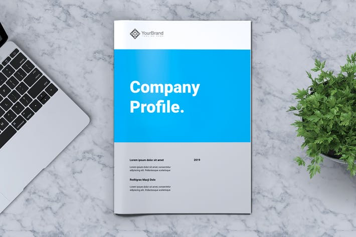 Cover Image For YOURBRAND - Company Profile Brochure