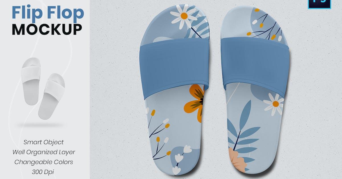 Download Flip Flops Mockup by VictorThemesNX