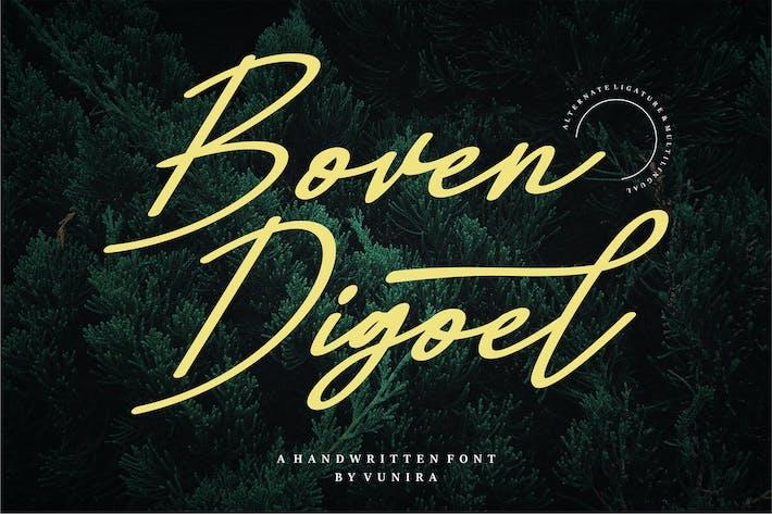 Thumbnail for Boven Digoel | A Handwritten Font
