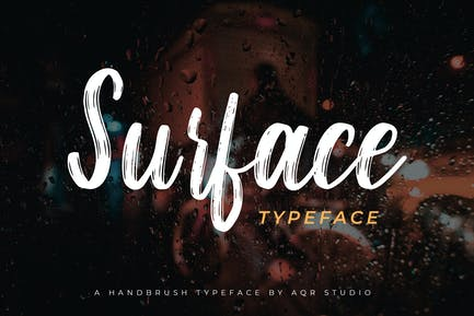 Surface Typeface