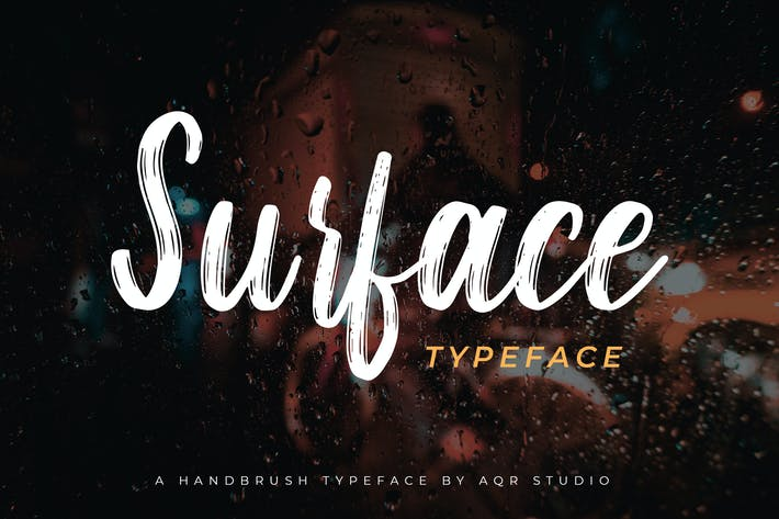 Thumbnail for Surface Typeface