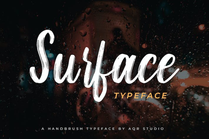 Cover Image For Surface Typeface