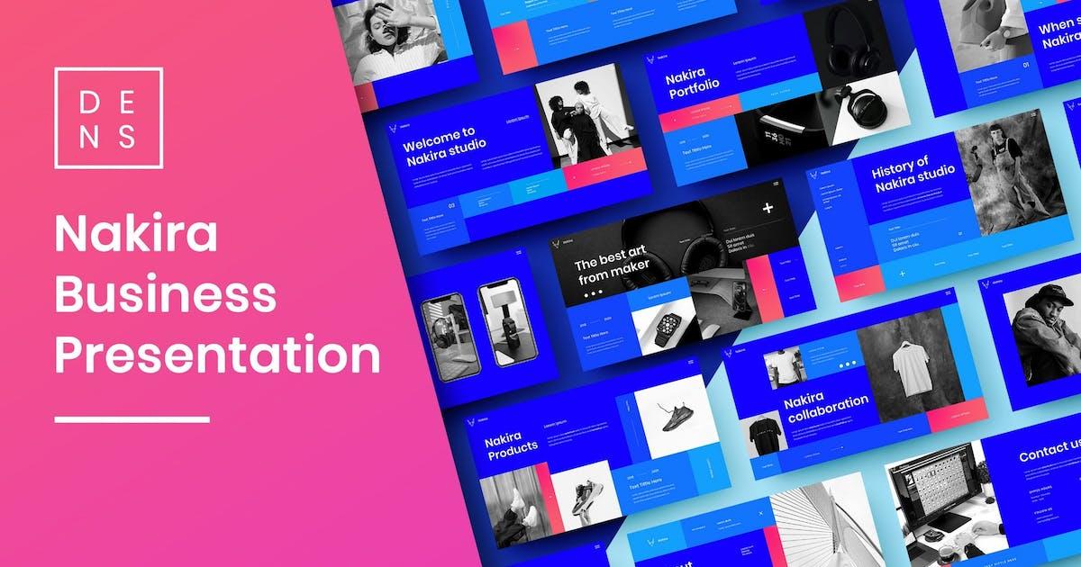 Download Nakira – Business PowerPoint Template by DensCreativeStudio