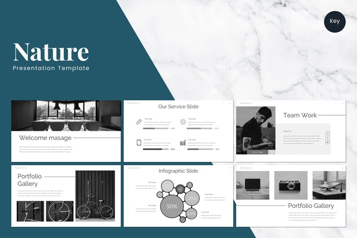 Thumbnail for Nature - Keynote Template