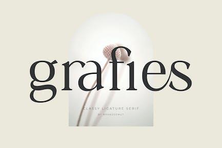 Grafies - Classy Ligature Serif
