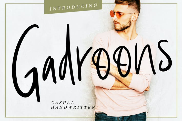 Thumbnail for Gadroons Casual Handwritten