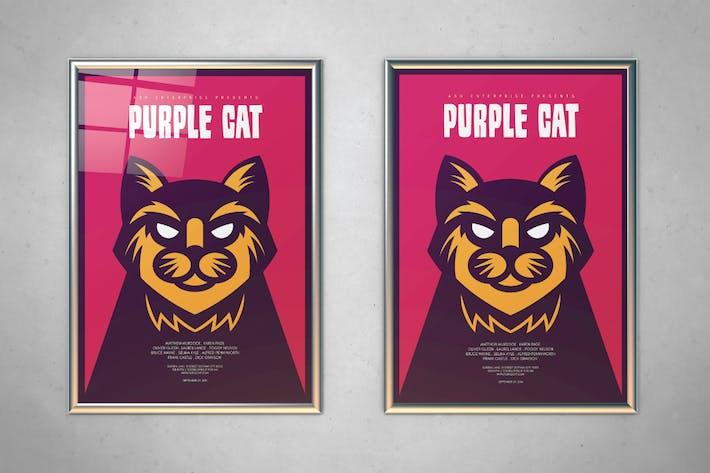 Thumbnail for Purple Cat dépliant