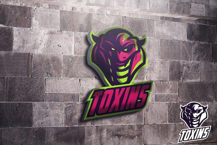 Thumbnail for Viper Toxin Mascot Esports Logo
