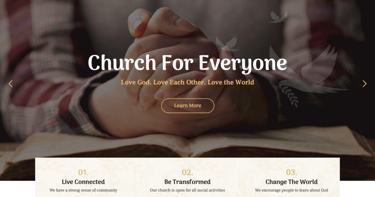 Download Faith & Hope | A Modern Church & Religion WordPre by AncoraThemes