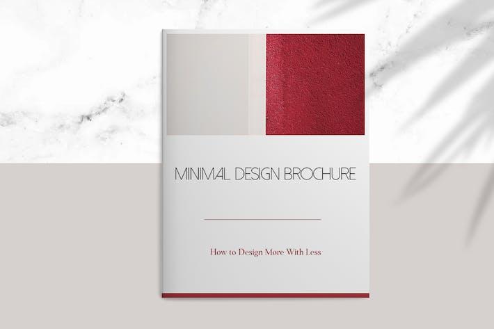 Thumbnail for Minimale Design-Broschüre