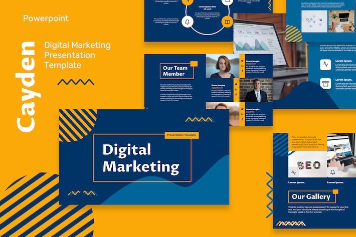 Шаблоны Powerpoint цифрового маркетинга