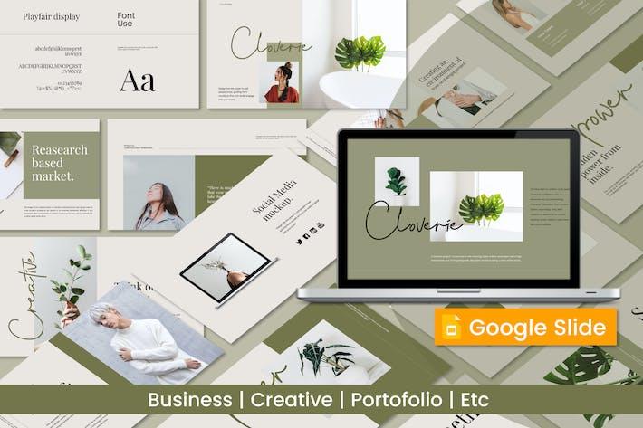 Thumbnail for Cloverie Creative Google Slide - JJ