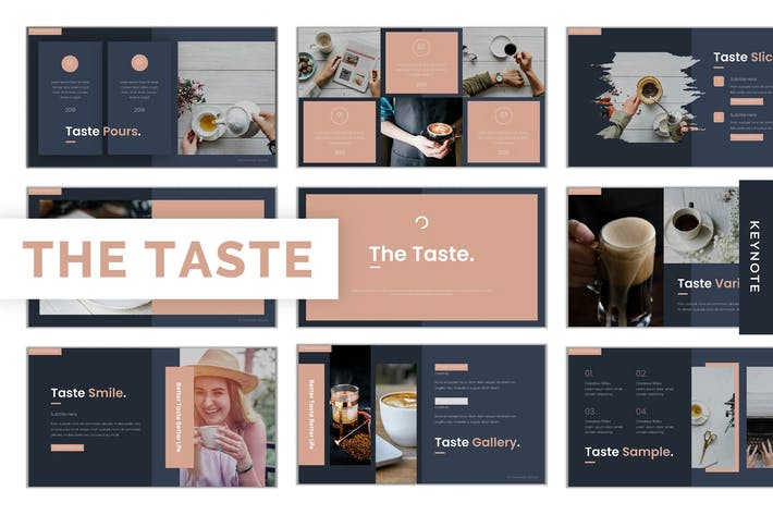 Thumbnail for The Taste - Keynote Template