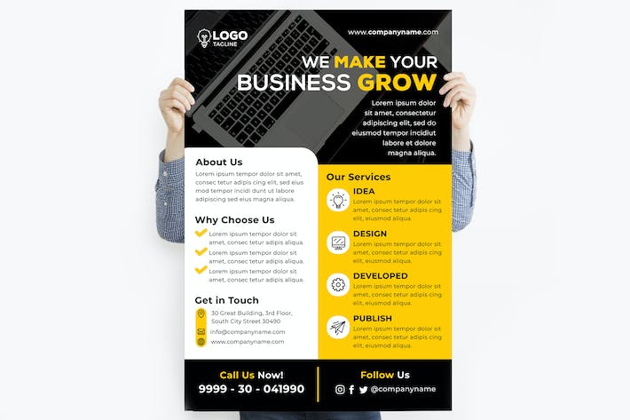 Thumbnail for We Make Your Business Grow Poster