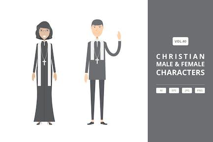 Christian - Male & Female Characters Vol.40