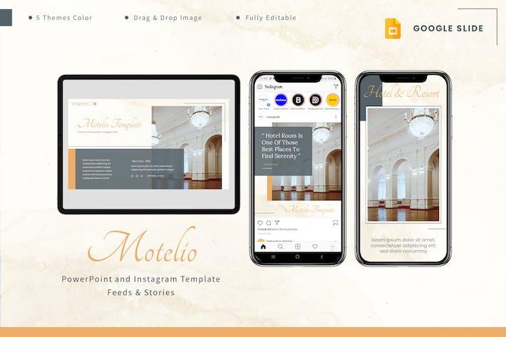 Motelio - Google Slides & Instagram Template