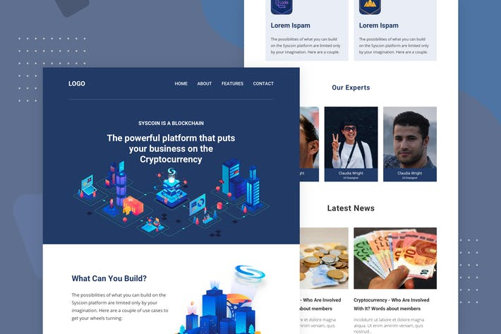 cryptocurrency - Email Newsletter