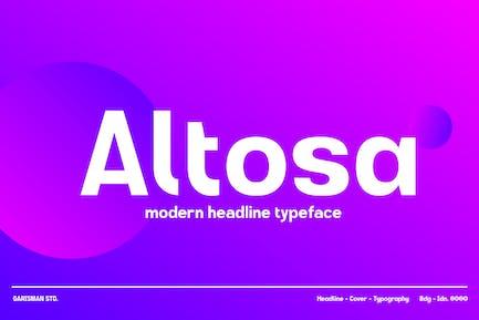 GR Altosa - Modern Headline