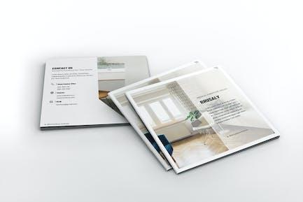 Furniture Square Brochure Template