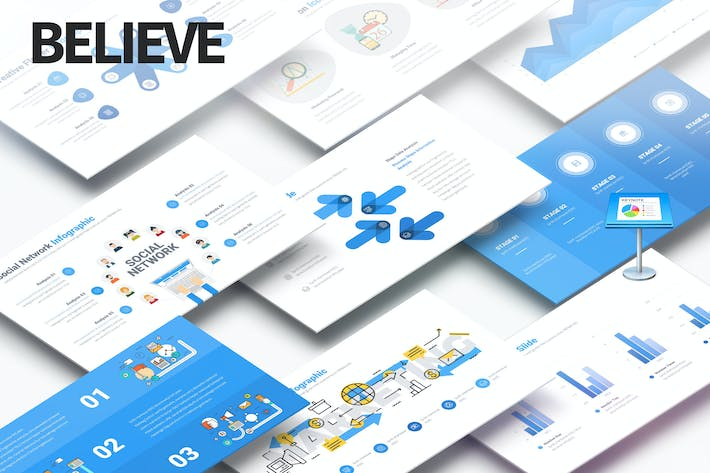 Thumbnail for Believe - Multipurpose Keynote Presentation