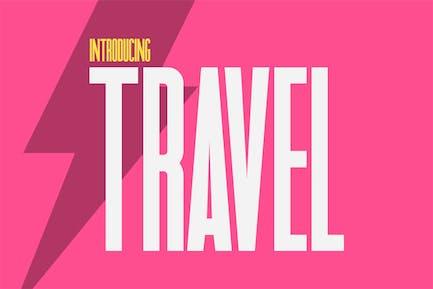 Travel Sans Font
