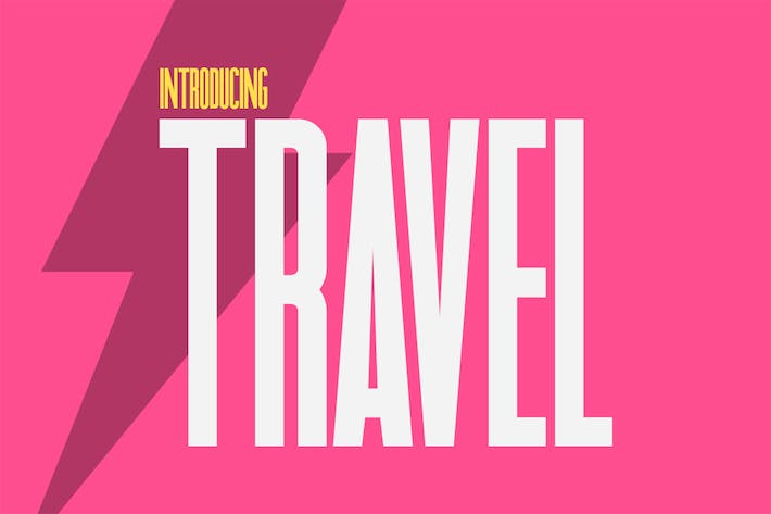 Thumbnail for Travel Sans Font