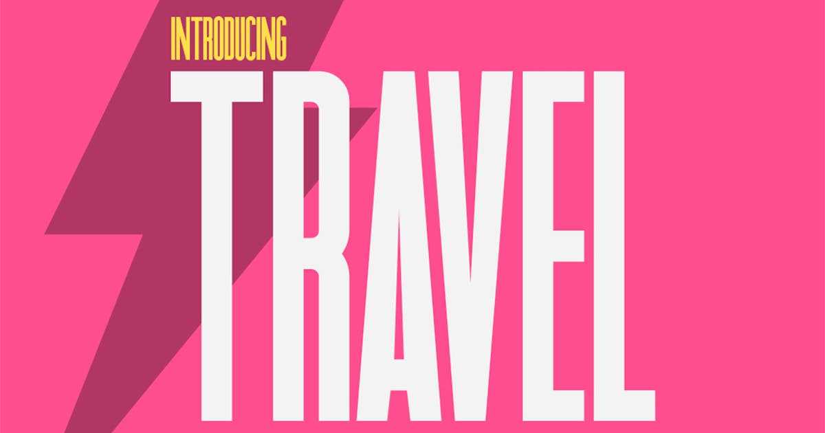 Download Travel Sans Font by maroonbaboon