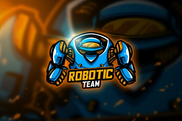 Thumbnail for Robotic - Mascot & Esport Logo