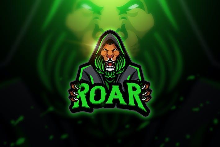 Thumbnail for Roar - Mascot & Esport Logo