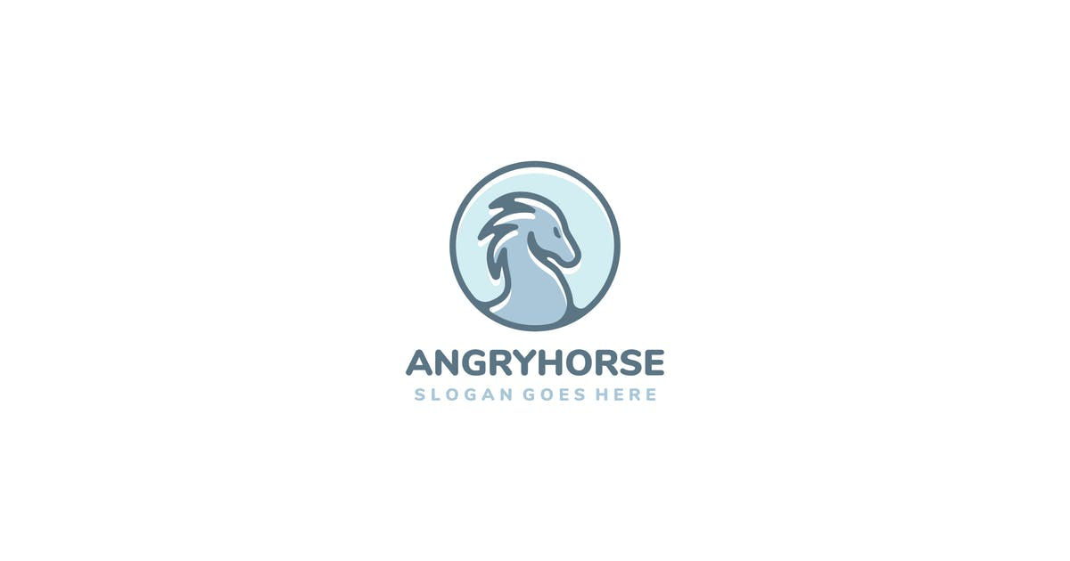 Download Horse Logo Design by 3ab2ou