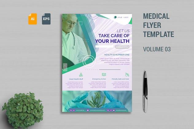Medical Flyer Template Vol. 03
