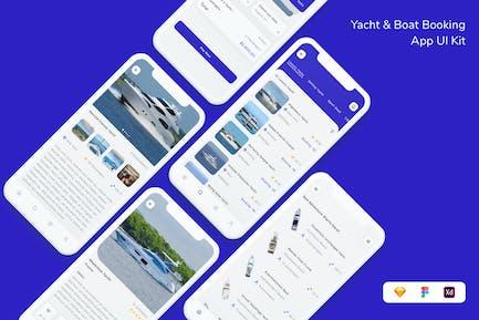 Yacht & Boat Booking App UI Kit
